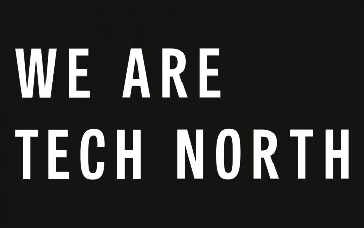 Tech North logo black